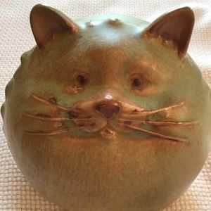 Other - FAT CAT CERAMIC POTTERY KITTY